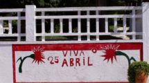 Coruche mural 25 abril