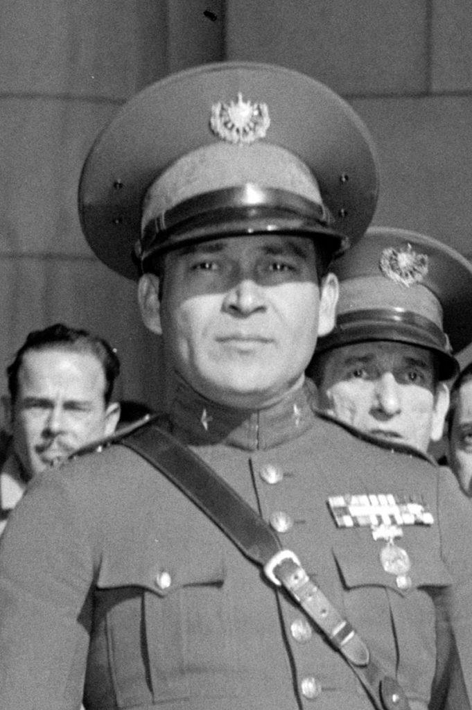 Gobernante de Cuba Fulgencio Batista