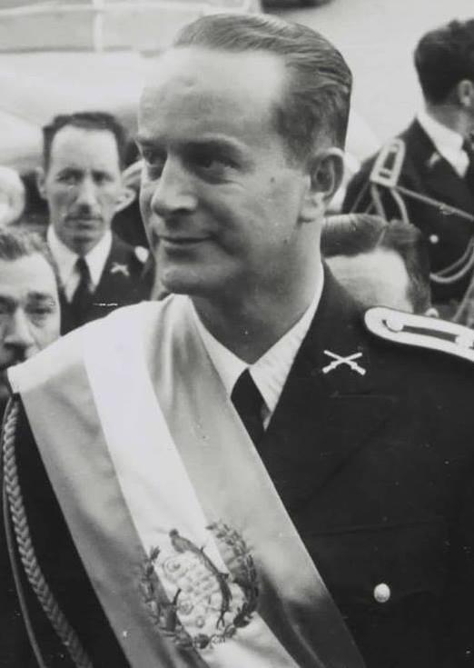 Militar Jacobo Arbenz