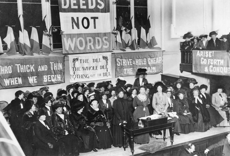 Suffragettes 1908