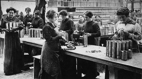 mujeres fábricas siglo XIX