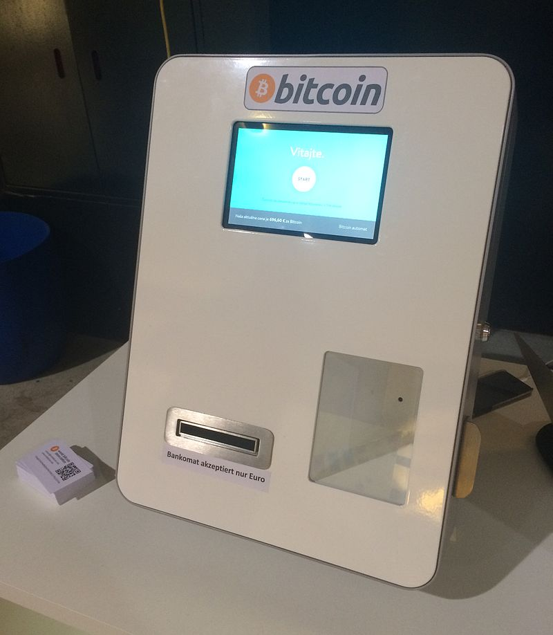 Cajero de bitcoins