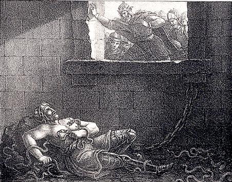 Muerte de Ragnar Lodbrok