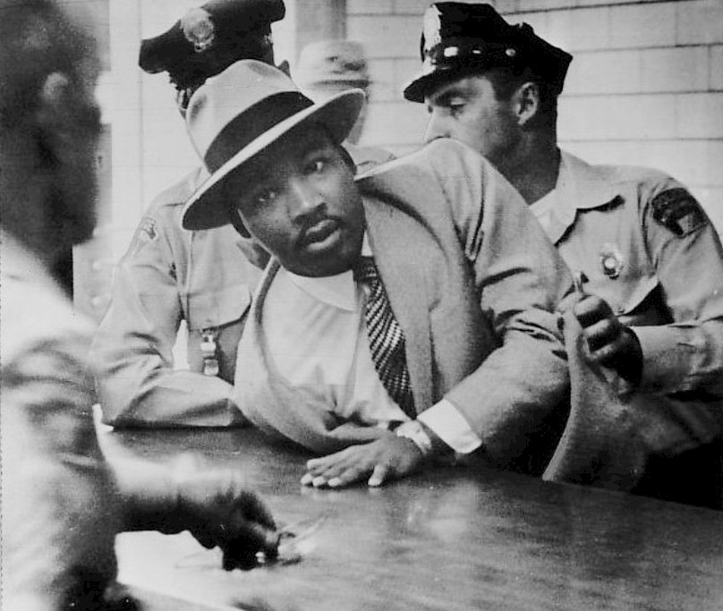 Detencion Martin Luther King