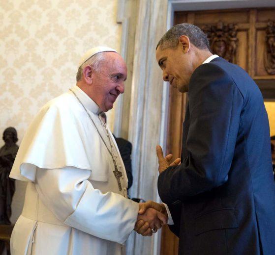 Obama y Francisco