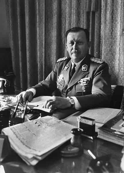Dictador Stroessner