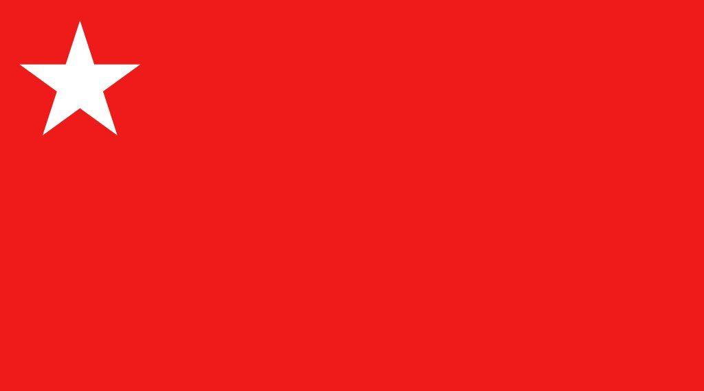 Bandera Partido Colorado Paraguay