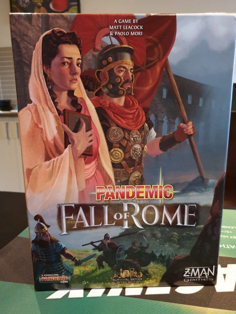 Caja Pandemic: Fall of Rome