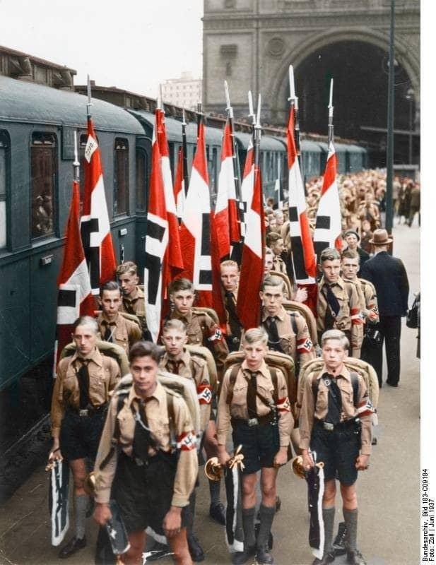juventudes hitlerianas color