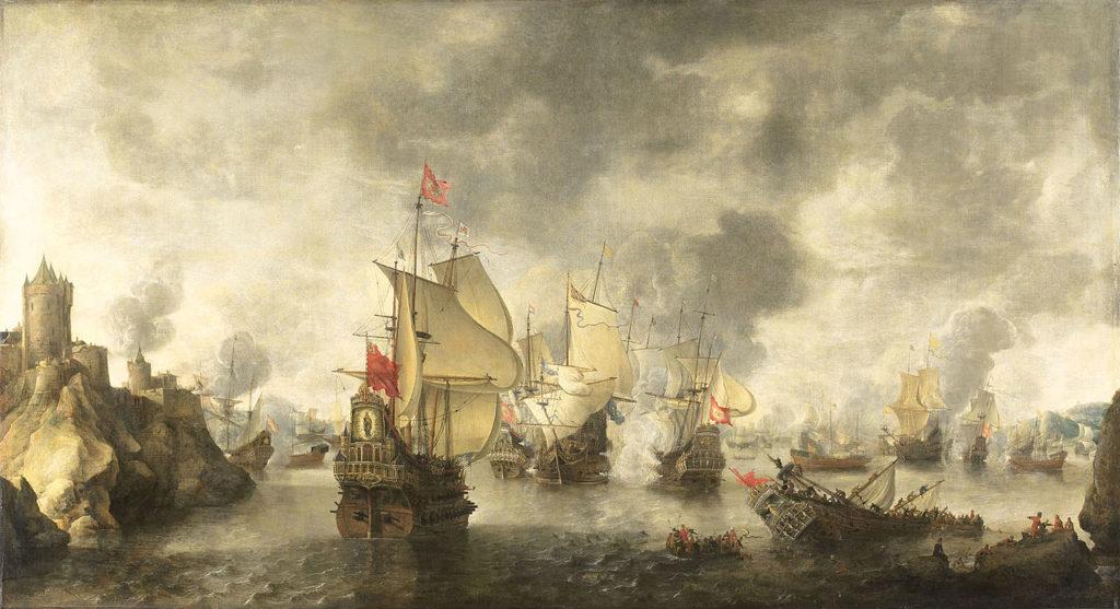 Batalla entre Venecia y el Imperio Otomano