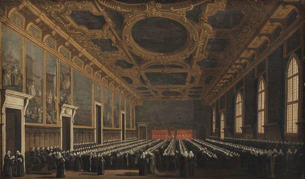 Maggior Consiglio de Venecia