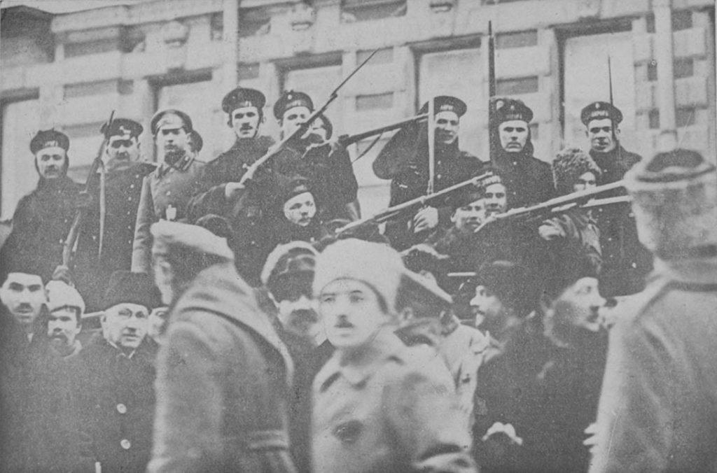 Marinos revolucionarios 1917