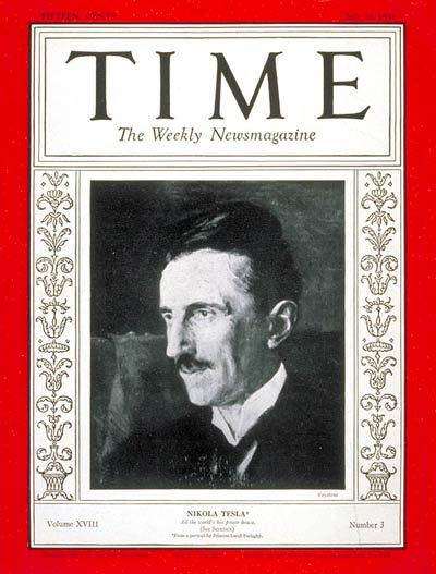 Tesla revista time